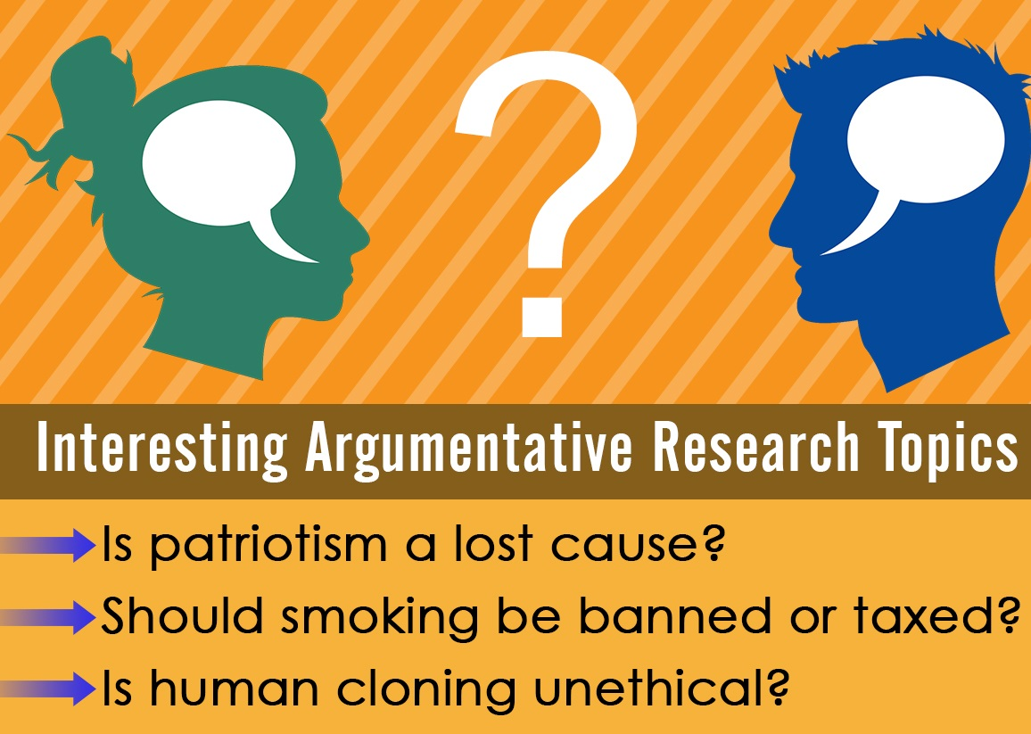 Topics for argumentative research paper